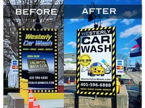 Car Wash branding transformation