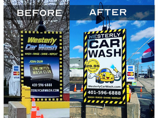 Car Wash branding transformation
