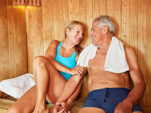 Above 50 and thriving? Saunas are for you