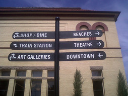 way finding signs Westerly RI