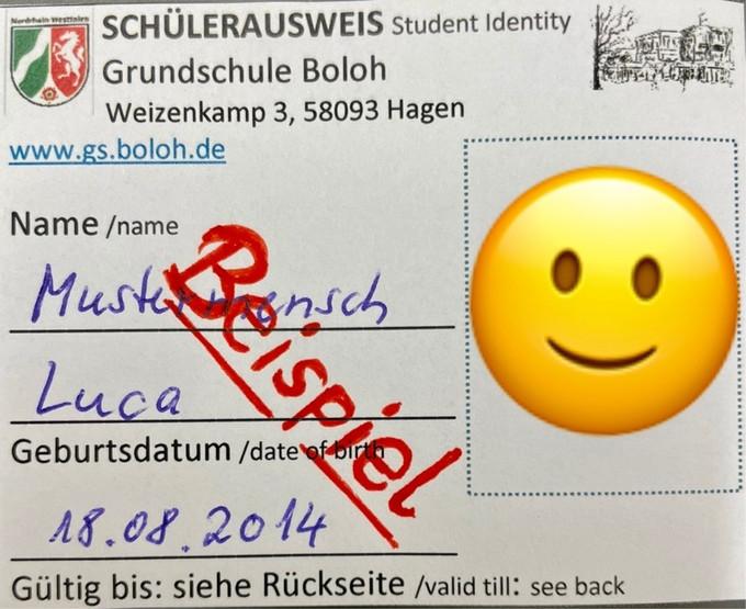 Neu: Schülerausweise (20.8.21)