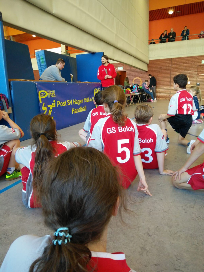 Handballturnier am Boloh
