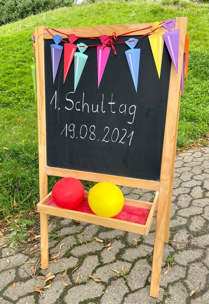 Einschulung 2021 an der Grundschule Boloh