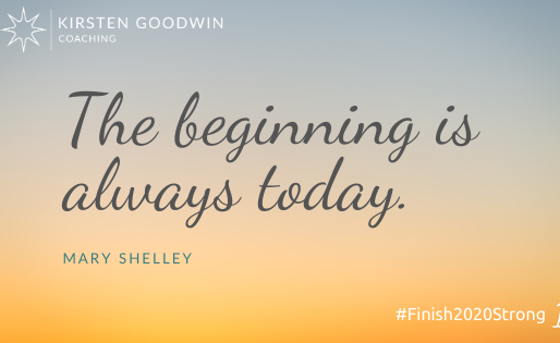 How to #Finish2020Strong with 3 Steps to a Fresh Start