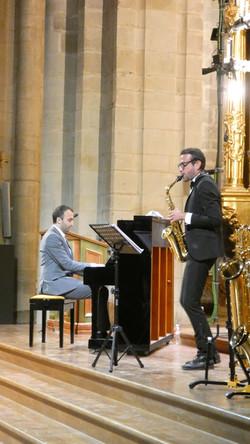Dúo de saxofón y piano