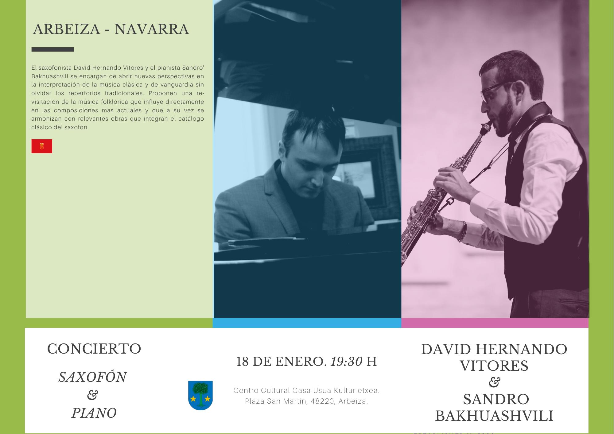 David Hernando Vitores en Navarra.