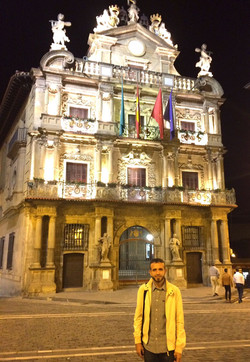 David Hernando en Pamplona