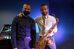 Saxophone and piano in Spain