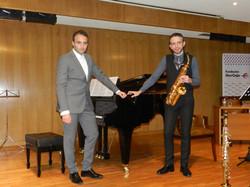 David Hernando Vitores: Saxofón