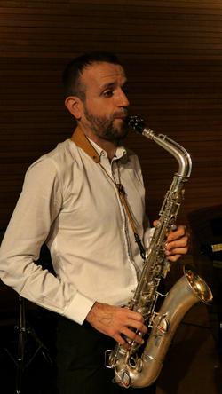 C Melody saxophone. David Hernando Vitores