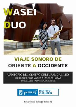 Cartel Concierto Galileo