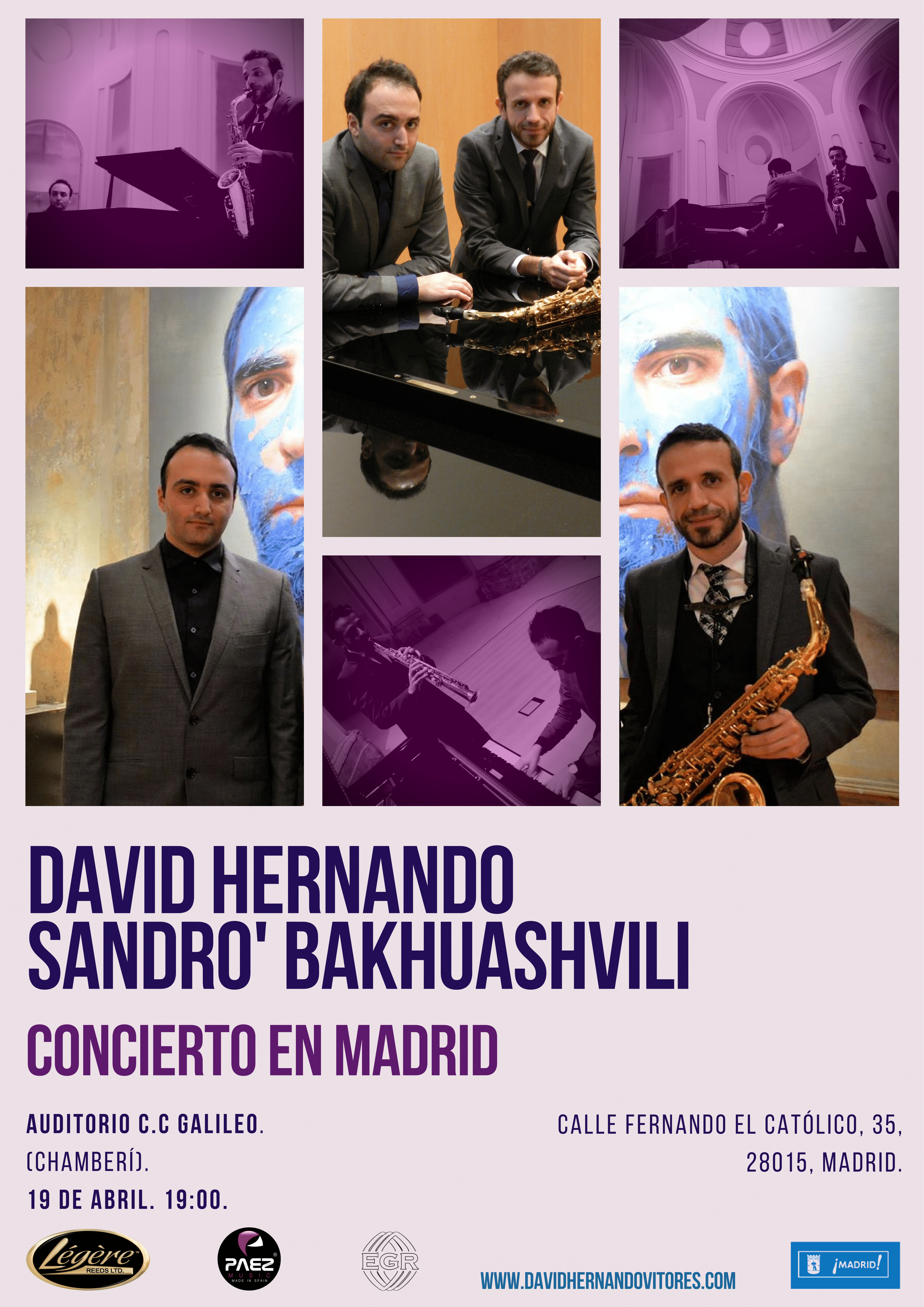 David Hernando &  Sandro' Bakhuashvi