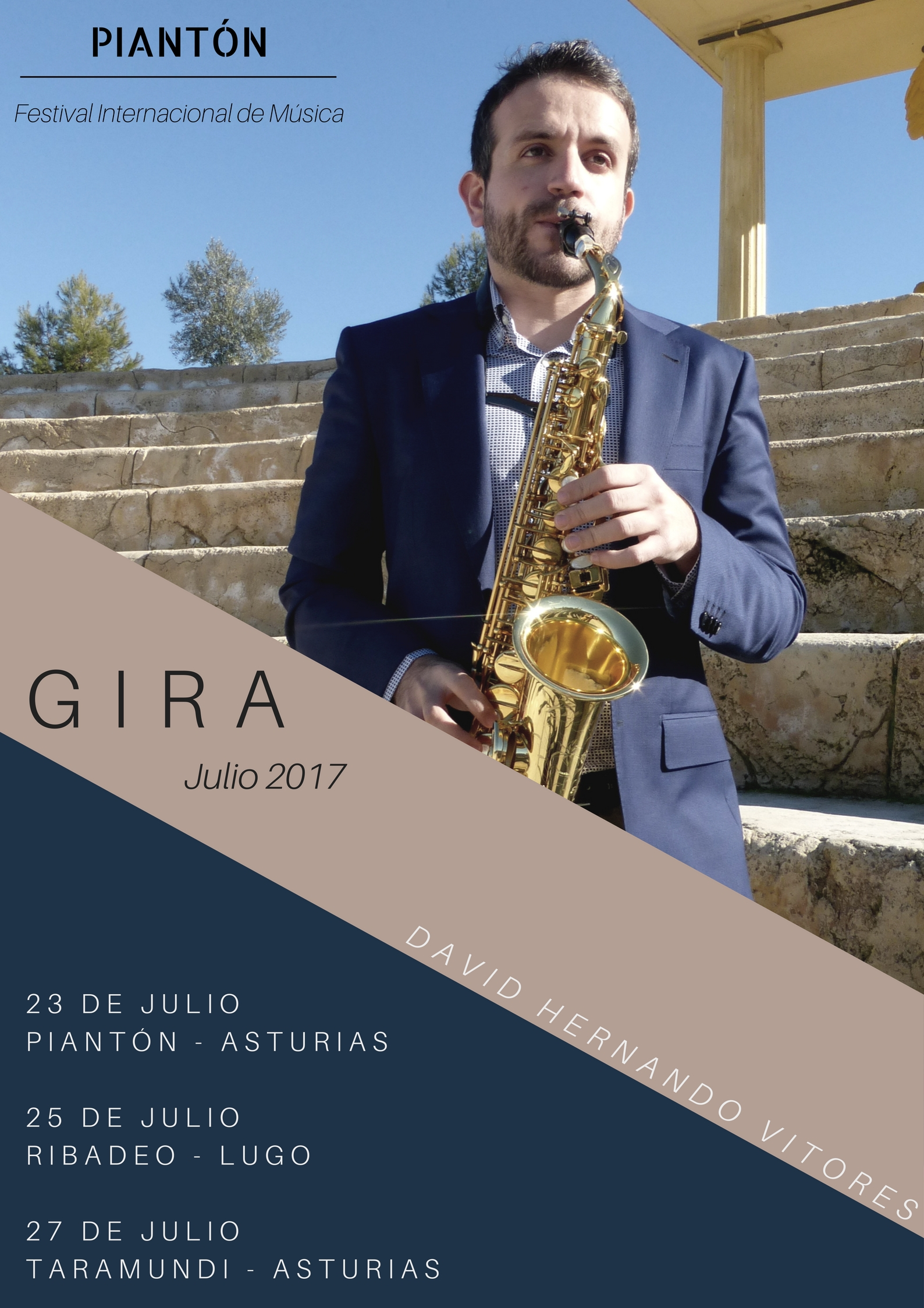 Cartel Gira Asturias