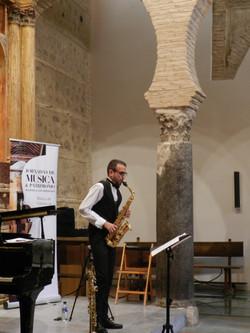 David Hernando saxofonista clásico