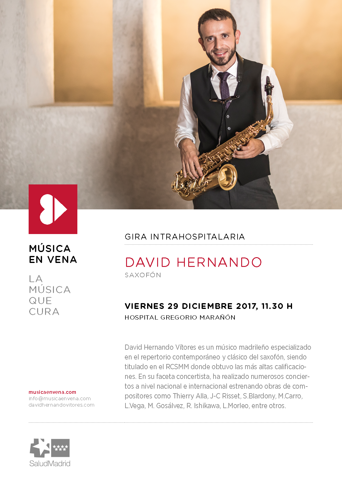 Música en Vena. David Hernando Vito