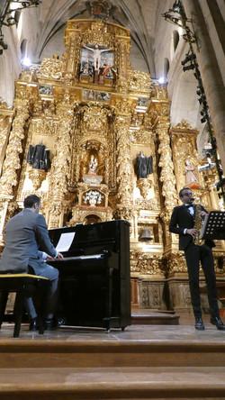 David Hernando y Sandro Bakhuashvili