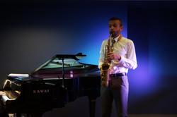 Saxophone adn piano in Madrid