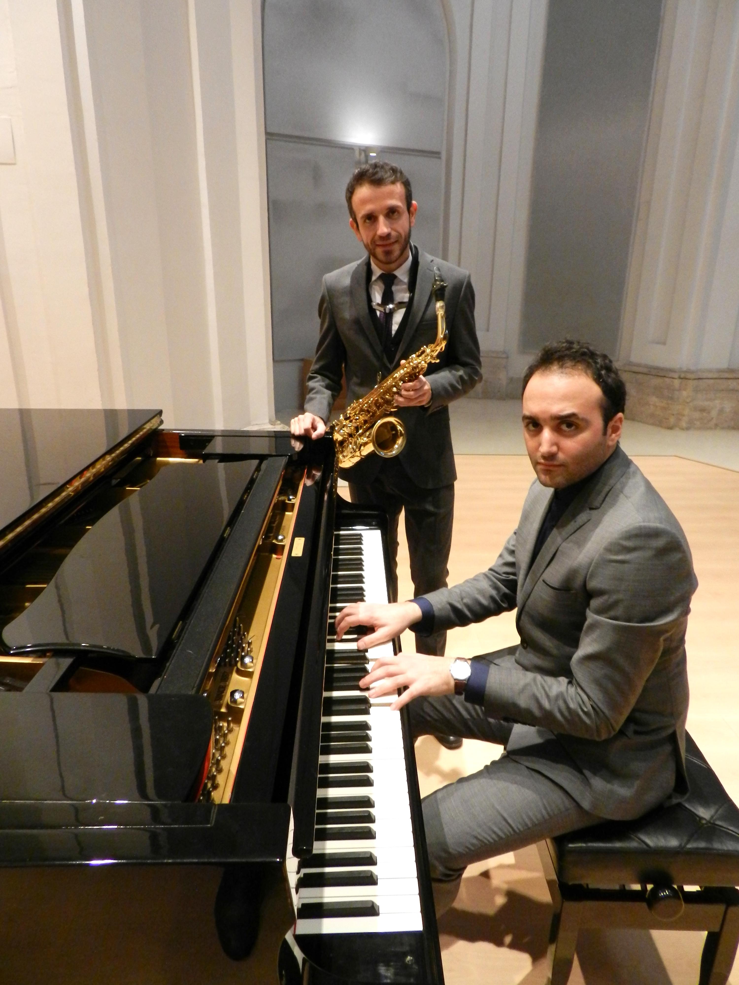 David Hernando Vitores y Sandro' Bak