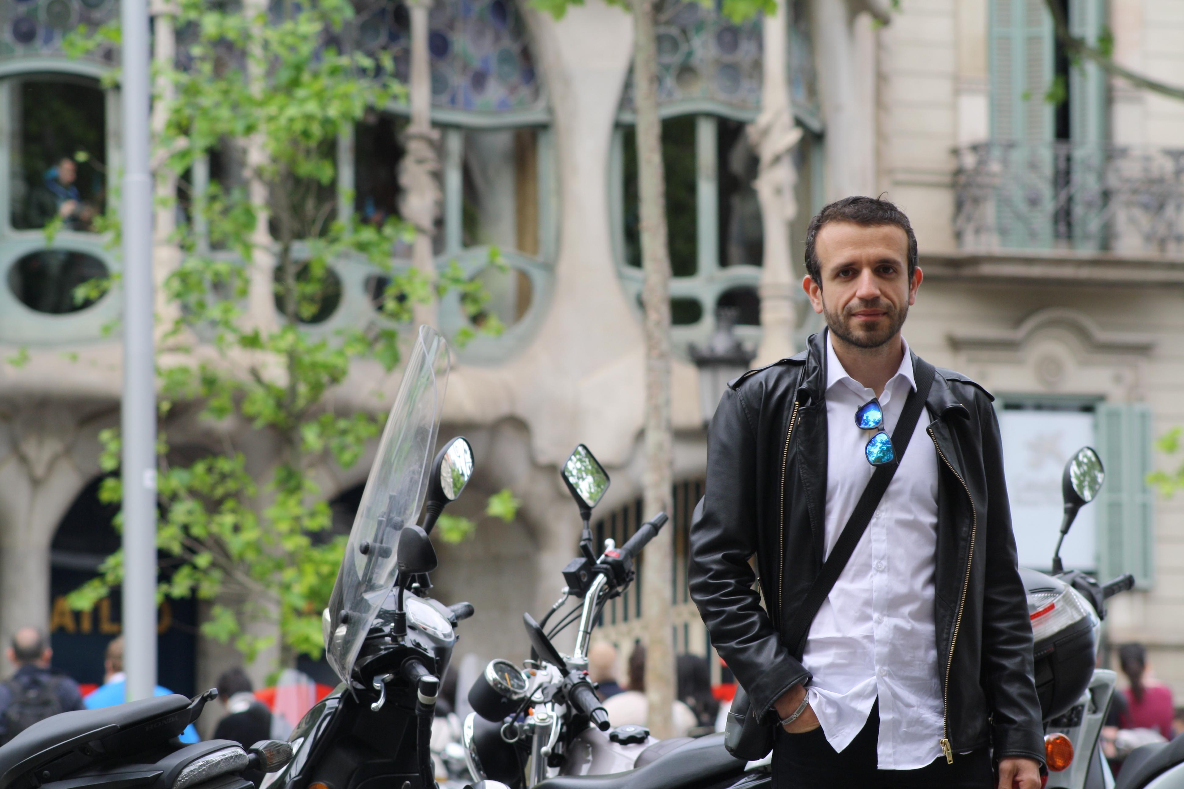 David Hernando en Barcelona
