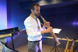 David Hernando Vitores. Yanagisawa saxophone