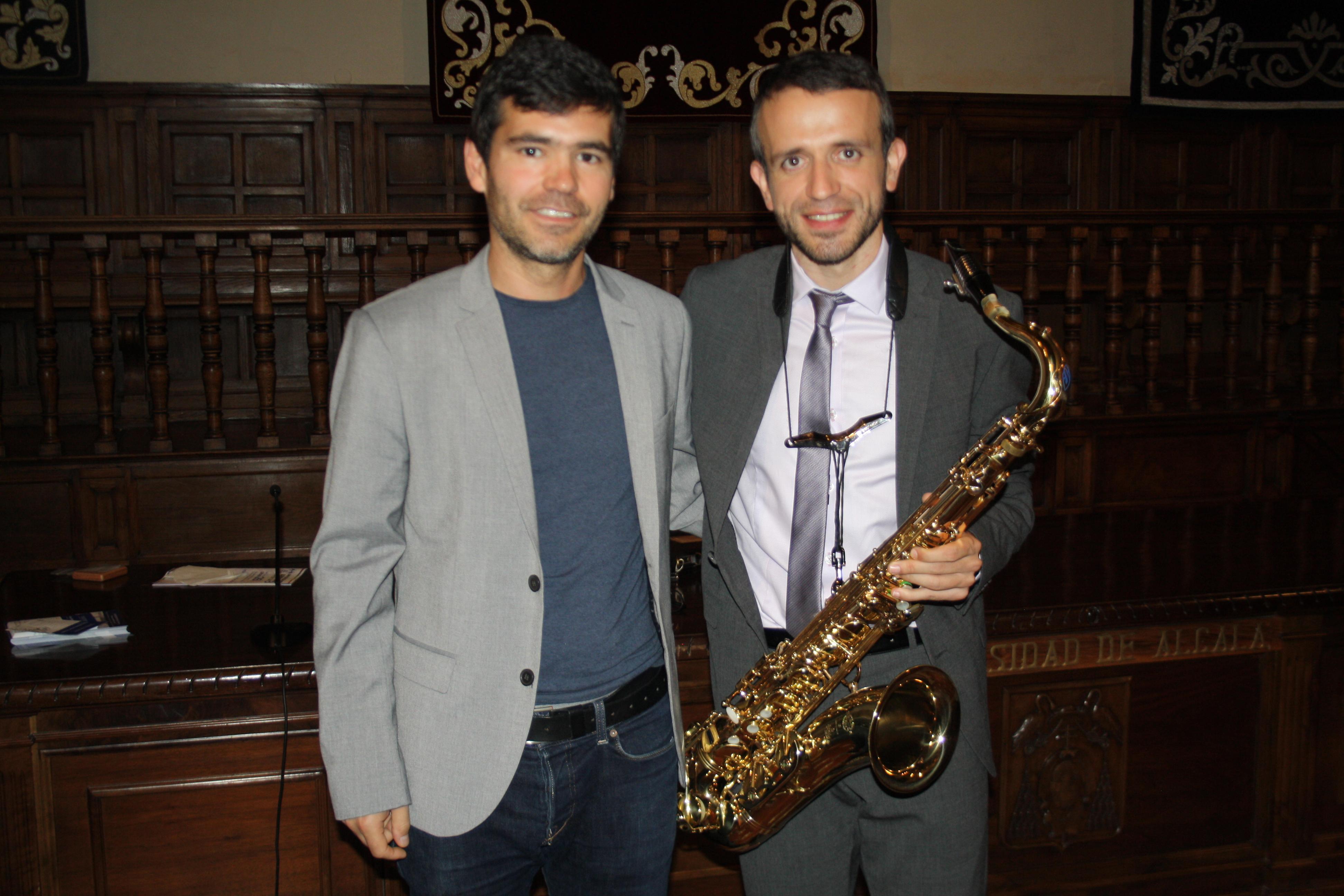 David Hernando y Mario Carro