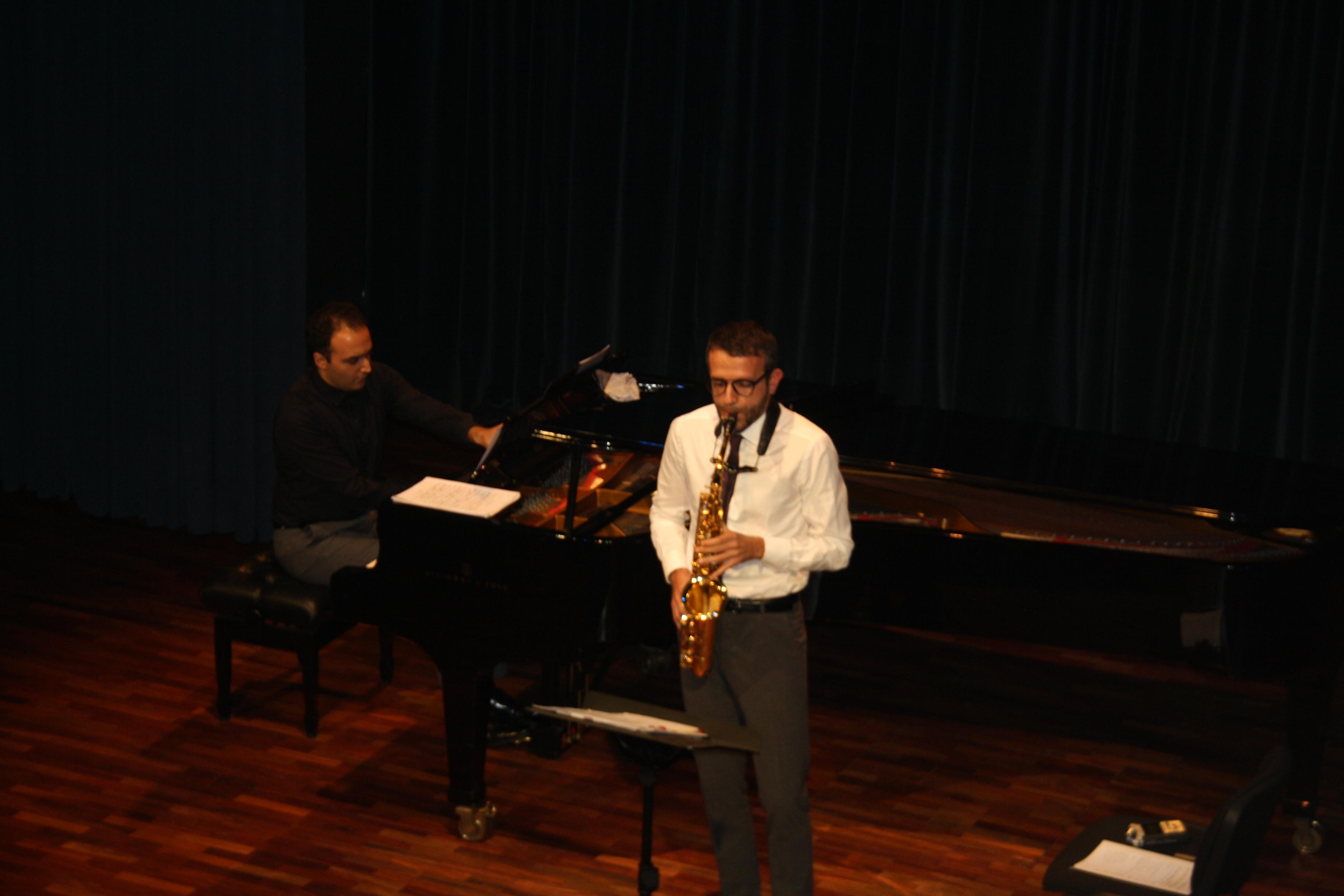 Dúo saxofón y piano