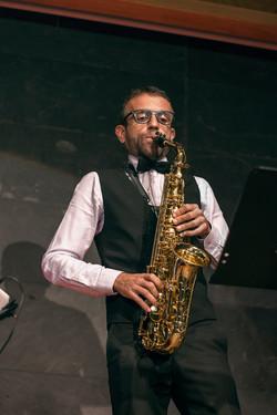 Saxofonista clásico. David Hernando.