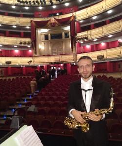 David Hernando Vitores - Teatro real