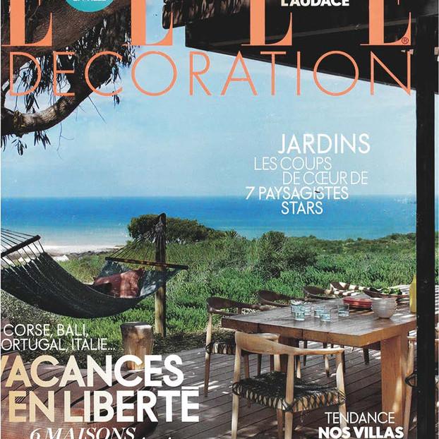 Couverture du magazine ELLE Décoration été 2020
