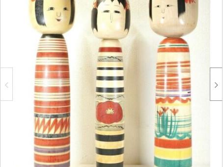 """メキシコに旅立つ素晴らしき日本の伝統工芸品 """"Kokeshi"""""""