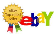 "ebayにて""TOP RATED SELLER""になりました!"