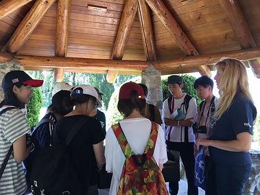 Peace Arch Park Group Tours