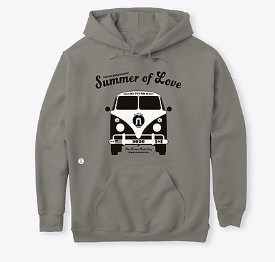 T-shirt hoodie Unisex Grey 1.png
