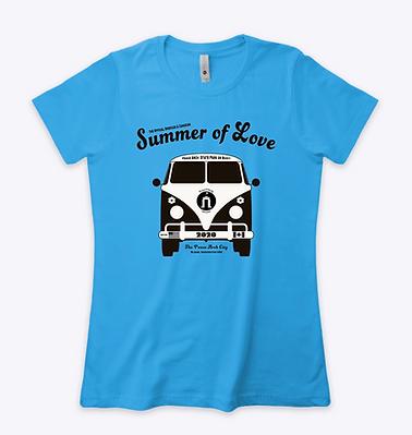 T-shirt Blue Summer .png