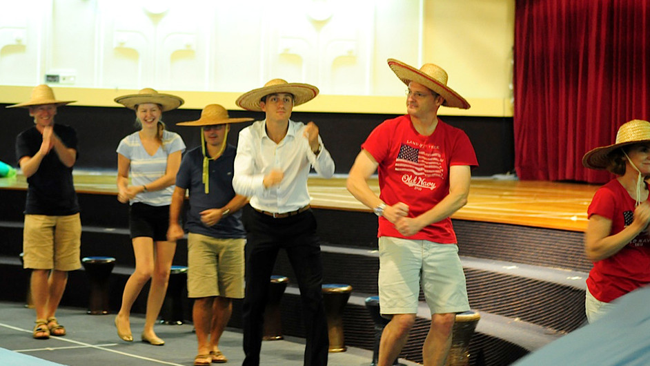 Camp Magic performances are a family affair