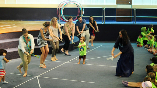 Parents LOVE having some fun at Friday performances