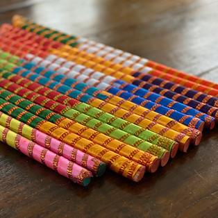 Rhythm creates colour and pattern