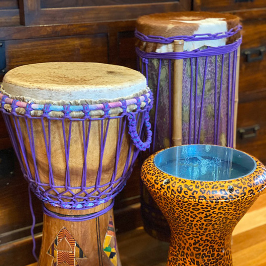 Drums come in all shapes and sizes