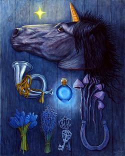 Чёрный Единорог