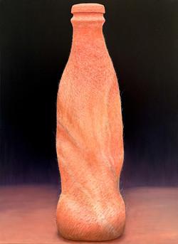 Coke in flesh_revised, oil on canvas, 70