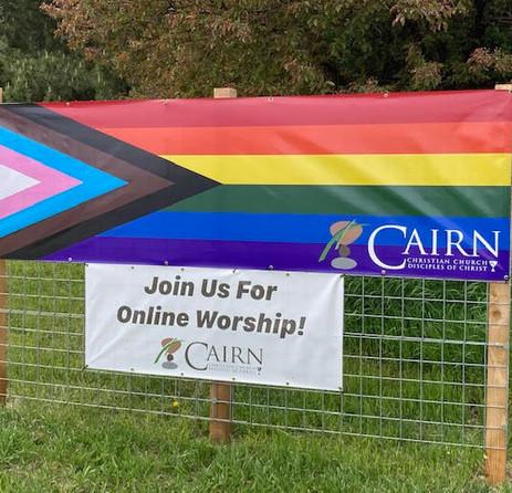 Pride Banner on 287