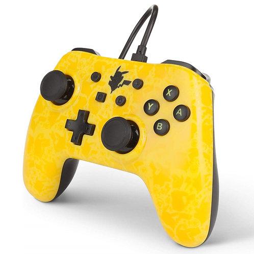 Control Nintendo Switch Usb Pikachu Amarillo - Negro