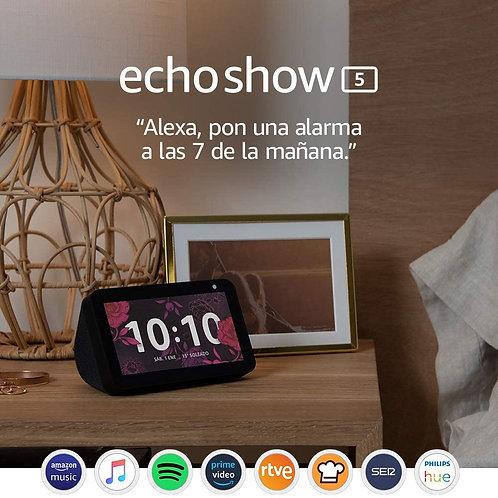 Echo Show 5 Pantalla Inteligente Compacta Con Alexa