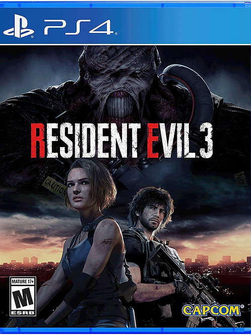 Resident Evil 3 PlayStation 4