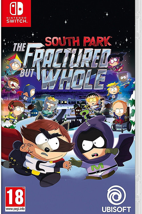 South Park and The Fractured But Whole Nintendo Switch