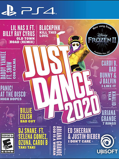 Just Dance 2020 Play Station 4