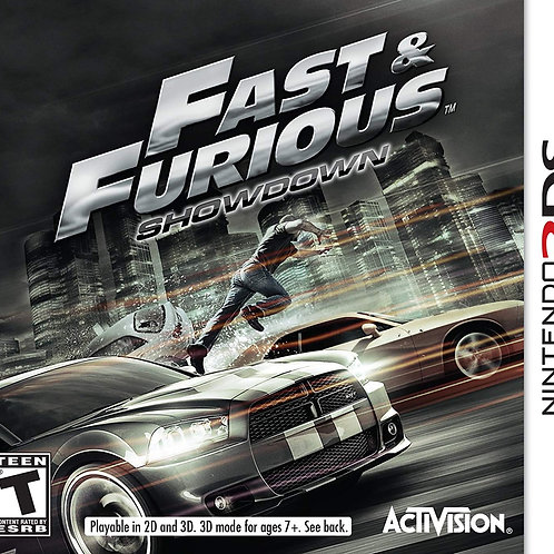 Fast & Furious Showdown Nintendo 3Ds