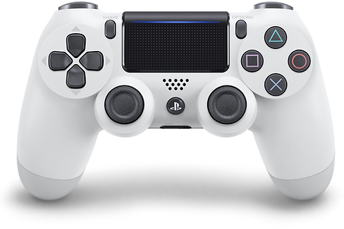 Control Dual Shock 4 Glacier White PlayStation 4