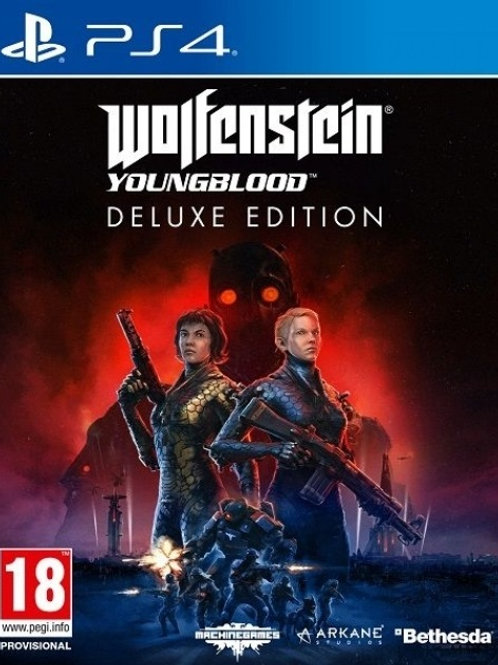 Wolfenstein Youngblood PlayStation 4 Deluxe Edition