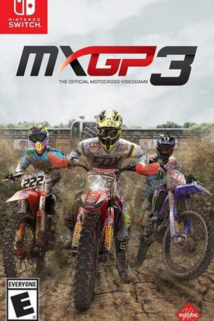 MXGP 3: The Official Motocross Videogame - Nintendo Switch